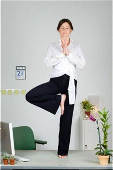 Yoga egzersizleri stresten arındırıyor!